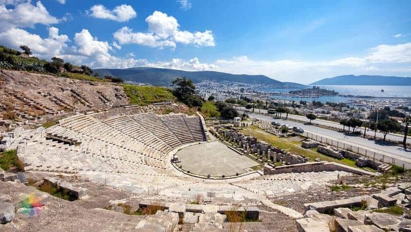 bodrum gezilecek yerler antik tiyatro