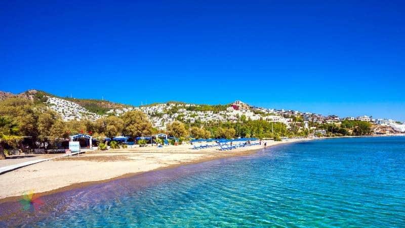bodrum'da gezilecek yerler Bitez Plajı