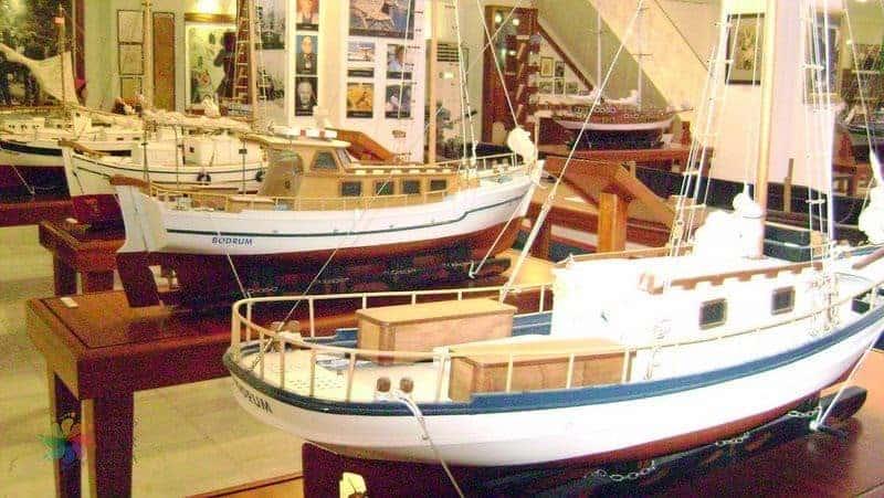 bodrum gezilecek yerler Bodrum Deniz Müzesi