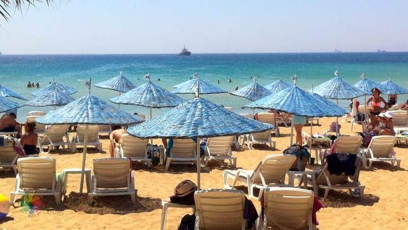 bozcaada gezilecek yerler Mitos Plajı