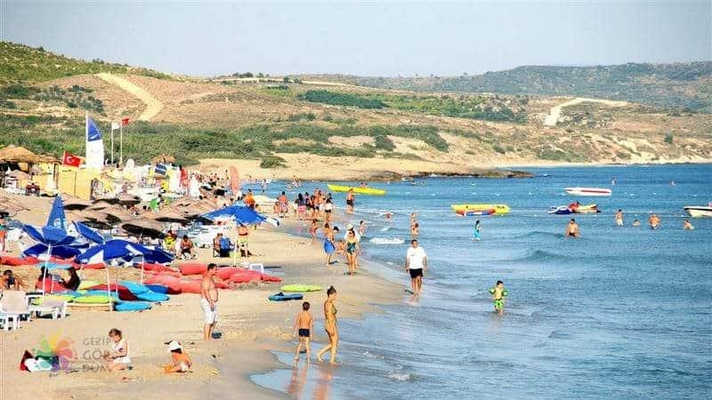 çeşme gezilecek yerler Altınkum Plajı