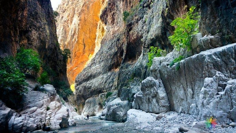 Saklıkent Kanyonu Fethiye'de gezilecek yerler