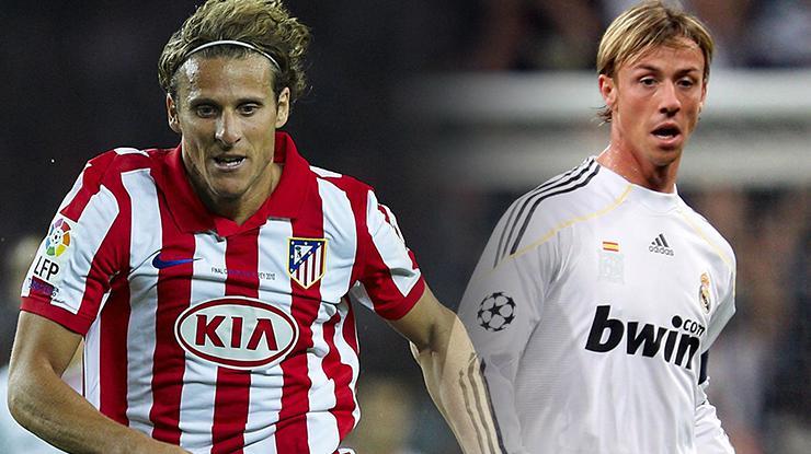 Guti ve Forlan, 7 Mart'taki derbi öncesi Real Madrid-Atletico