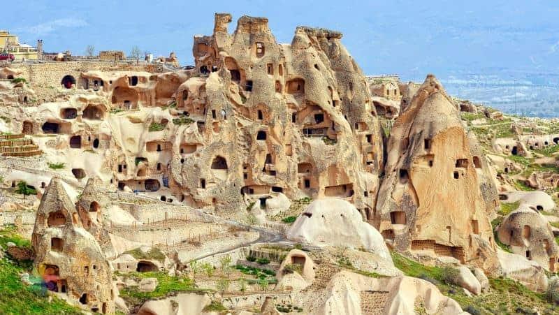 kapadokya gezilecek yerler Uçhisar Kalesi