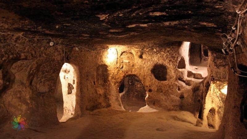 kapadokya'da görülecek yerler Mazı Yeraltı Şehri