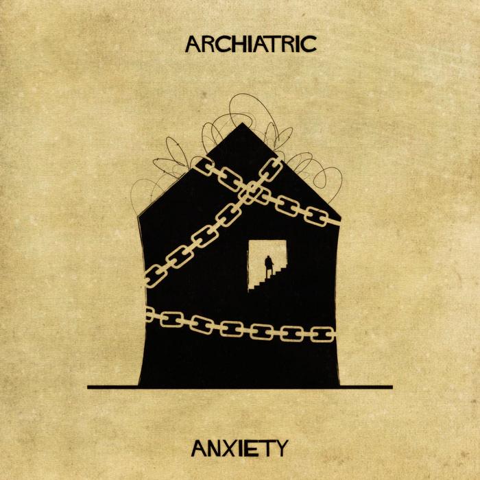 Psikolojik Rahatsızlıklar Bina Olarak Tasarlansa Nasıl Olurdu?